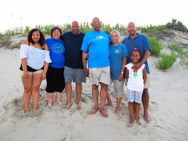 The Water's Family at Beach 2012