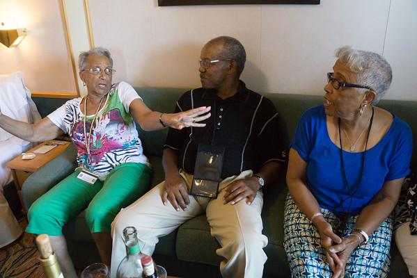Sandra's & Dosh's 50th Anniversary Cruise July